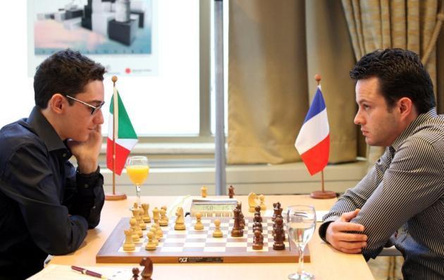 Caruana vs Bacrot