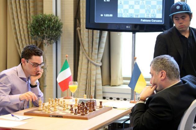 Caruana vs Ivanchuk