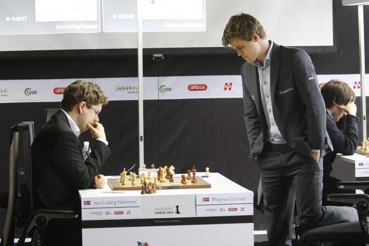 Hammer vs Carlsen