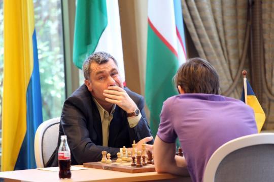 Ivanchuk vs Grischuk