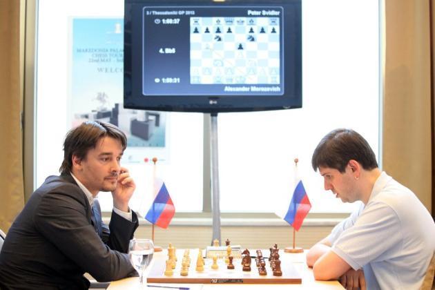 Morozevich vs Svidler