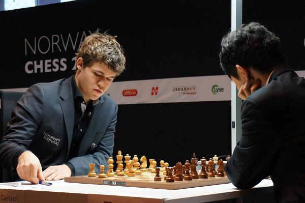 Carlsen vs Wang Hao
