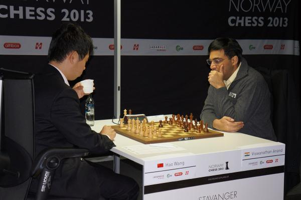 Wang Hao vs Anand