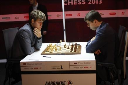 Carlsen vs Svidler