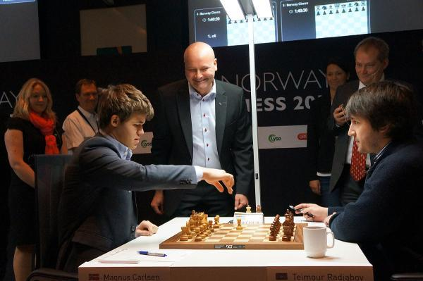 Carlsen vs Radjabov