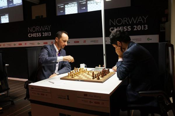 Topalov vs Wang Hao