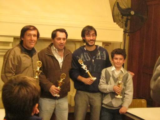 Geloso, Stefano, Montero y Pereira - Prix en Pergamino 2013, 3ra etapa