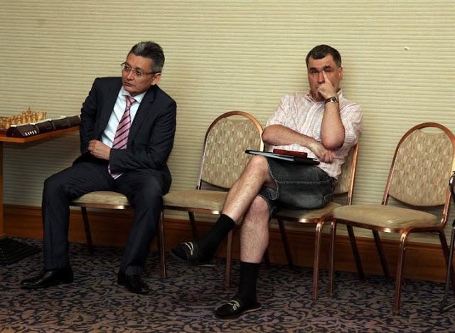 ivanchuk en pantalones cortos
