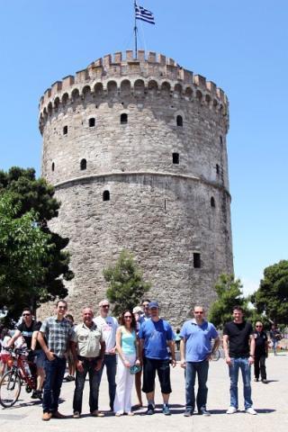 "La famosa ""Torre"" de Tesalónica"