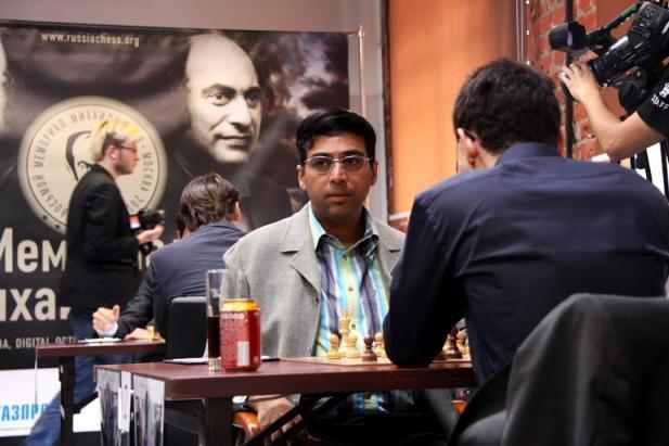 Anand cae derrotado ante Fabiano Caruana