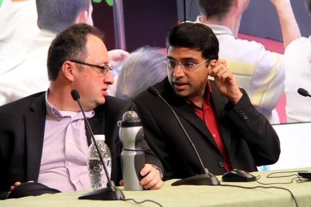 Dos viejos conocidos: Gelfand y Anand