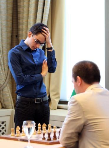 Caruana vs Kamsky