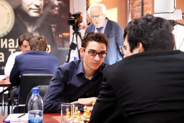 Caruana vs Kramnik