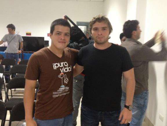 Eduardo Iturrizaga y Lázaro Bruzón (foto: Pasión Ajedrez)