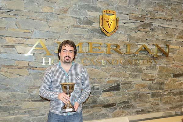 """Leonardo Tristán, vencedor del XI Abierto """"Termas del Río Hondo"""""""
