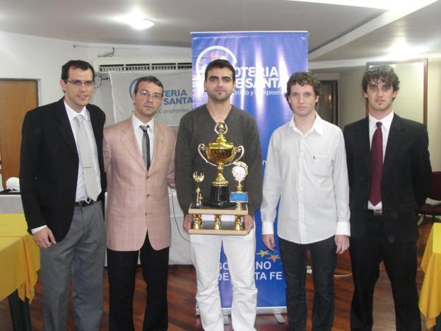 Mario Villanueva, ganador del Abierto de Sunchales 2013