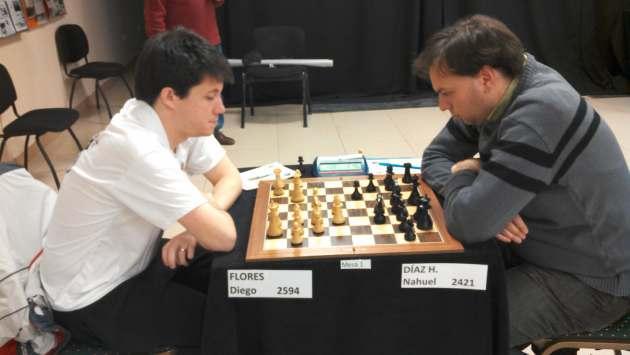 Diego Flores vs Nahuel Diaz