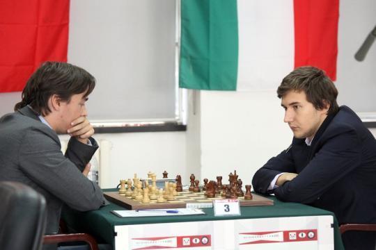 Morozevich cae ante Karjakin