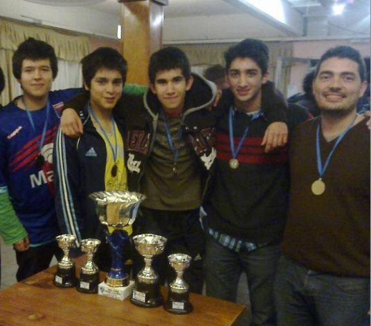 El representativo de Tigre, campeón del torneo en Zárate 2013