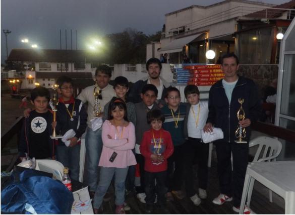 Participantes del Torneo en Tiro y Gikmnasia de Jujuy