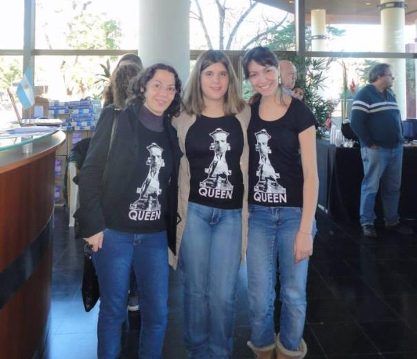 Marisa Zuriel, Denise Carraro y Betania Lozano