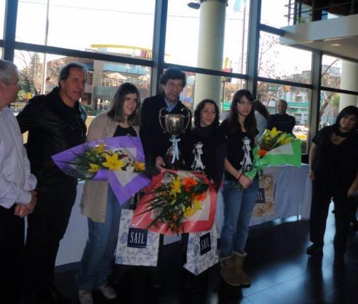 """Premiación LNA 2013: Campeonas """"Duchamp Queens"""""""