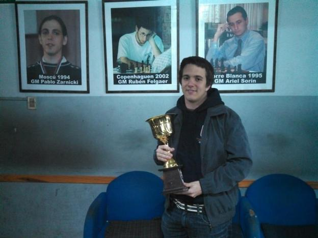 GM Axel Bachmann, de Paraguay, vencedor del Magistral Gráfica Yael 2013