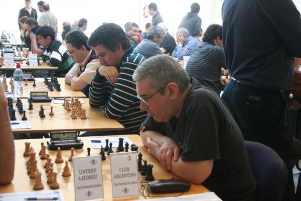 El Club Argentino, con Rodriguez, Perelman y Tempone