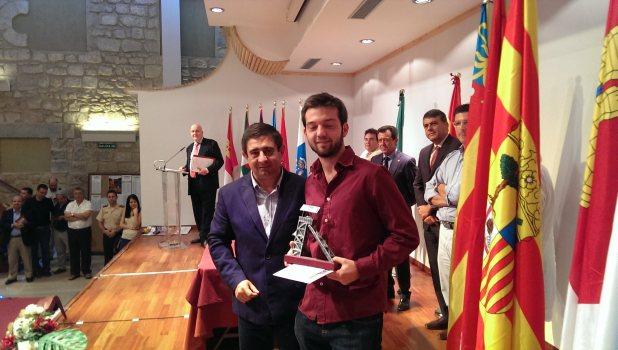 Iván Salgado, campeón de España 2013