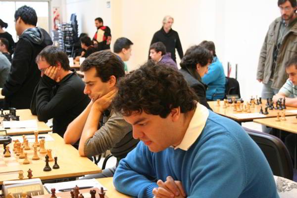 Duchamp Premiere, con Mareco, Peralta y Alonso