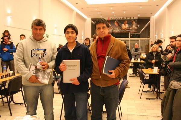 IRT Rubinstein: Gustavo Bernal, Noe Sotelo y Alfredo Miserendino