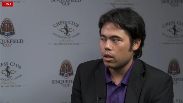 Hikaru Nakamura, líder tras 2 rondas