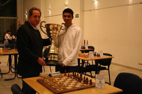 Santiago Yago de Moura, ganador de la Copa Mercosur 2013