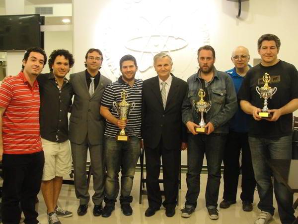 Premiación del 3er Abierto APSEE 2013