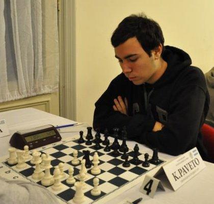 Kevin Paveto, ganador en Chascomús 2013