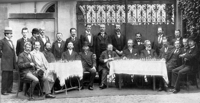 Participantes del torneo de Nuremberg 1896
