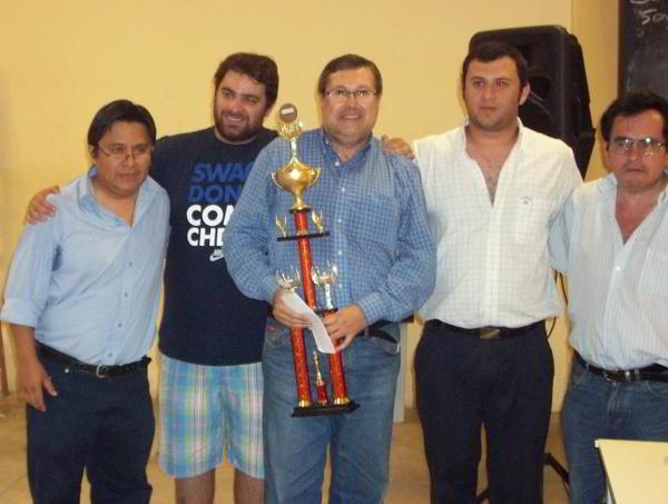 Raul Acosta, ganador del IRT Ciudad de Posadas