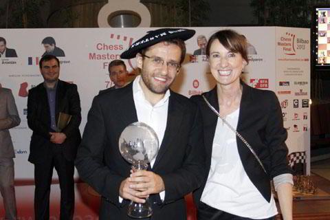 Levon Aronian, ganador del Masters de Bilbao 2013