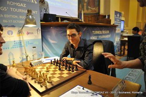 Fabiano Caruana, ganador del magistral Regilor 2013
