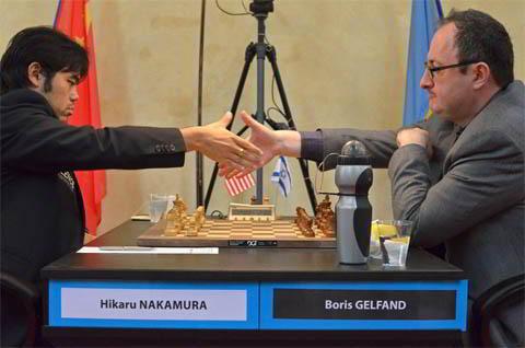 Nakamura vs Gelfand