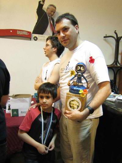MI Nahuel Diaz, ganador de la Copa