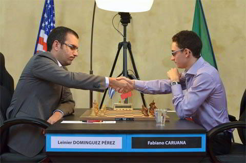 Dominguez vs Caruana
