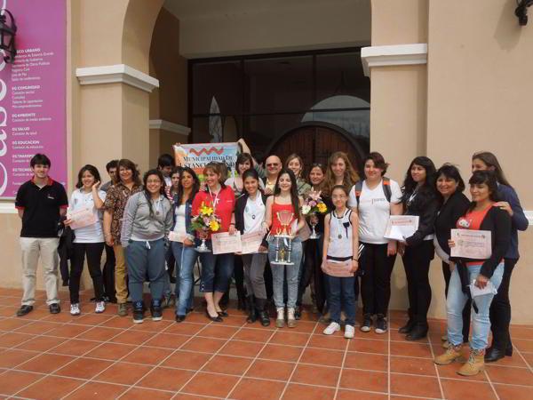 Las participantes del Campeonato Argentino Femenino  Absoluto 2013