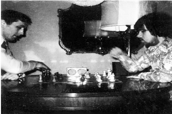 Bobby Fischer y Walter Browne