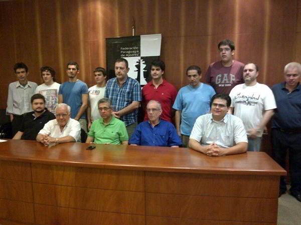 Participantes del Torneo de Maestros 2013