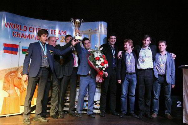 El equipo ruso campeón 2013