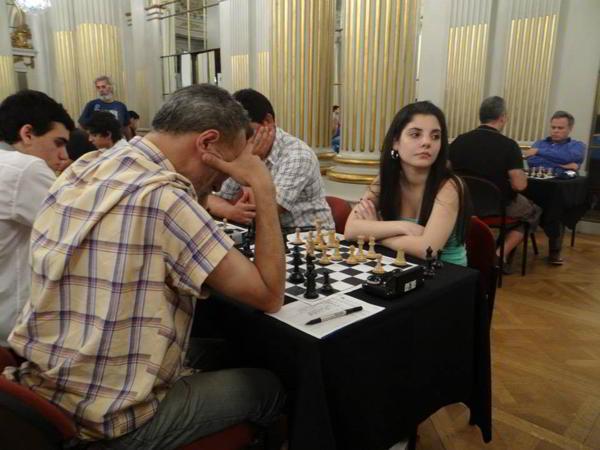 La campeona argentina Florencia Fernandez