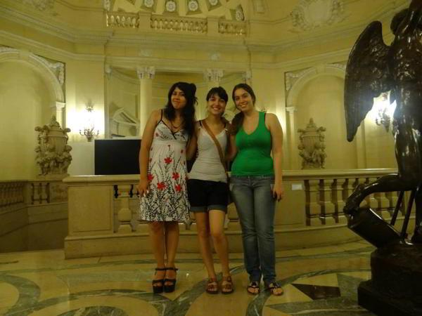 Nancy Flores, Betania Lozano y Maisa Nejansky