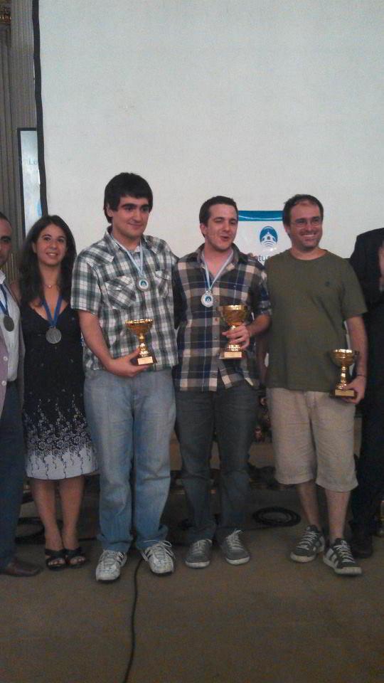 Maggiolo (Directora del certamen), Perez Ponsa, Bachmann y Alonso
