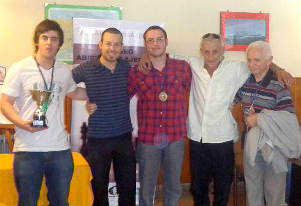El equipo campeón: Club de Ajedrez Capablanca, de Trelew